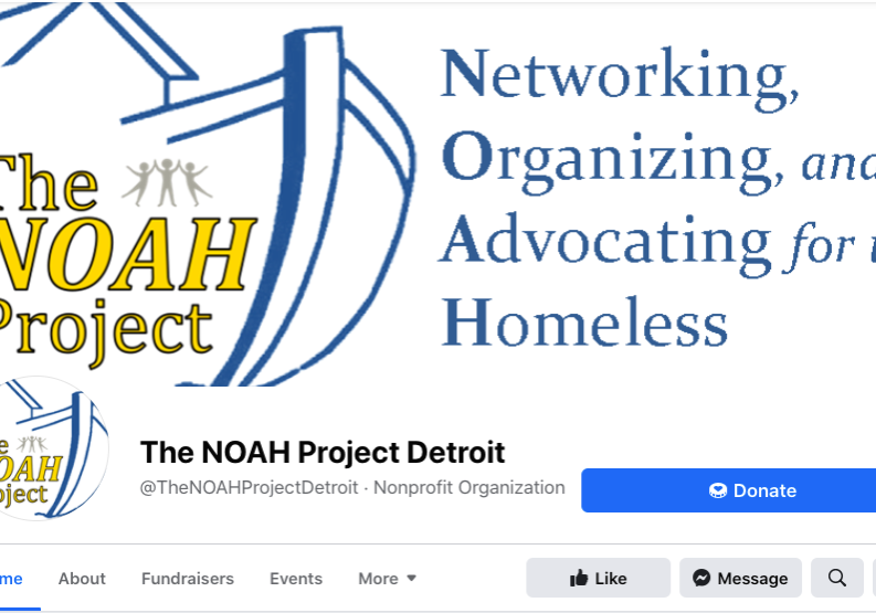 NOAH facebook page screenshot